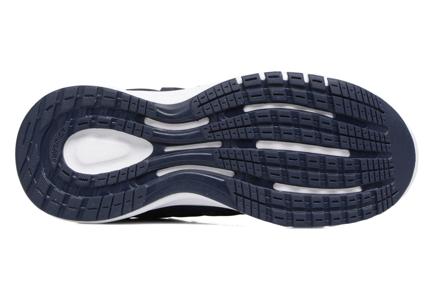 Sport shoes Adidas Performance Galaxy 4 K Blue view from above