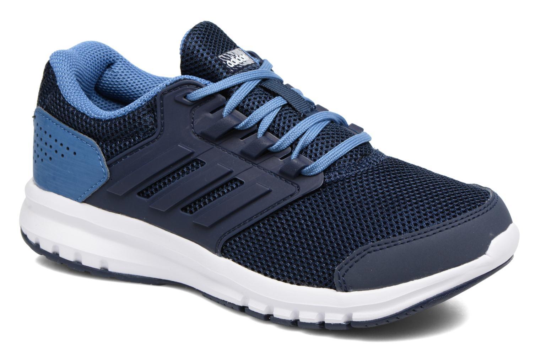 Sportschuhe Adidas Performance Galaxy 4 K blau detaillierte ansicht/modell