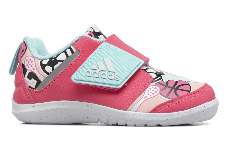 Baskets Adidas Performance Fortaplay Ac I Rose vue derrière