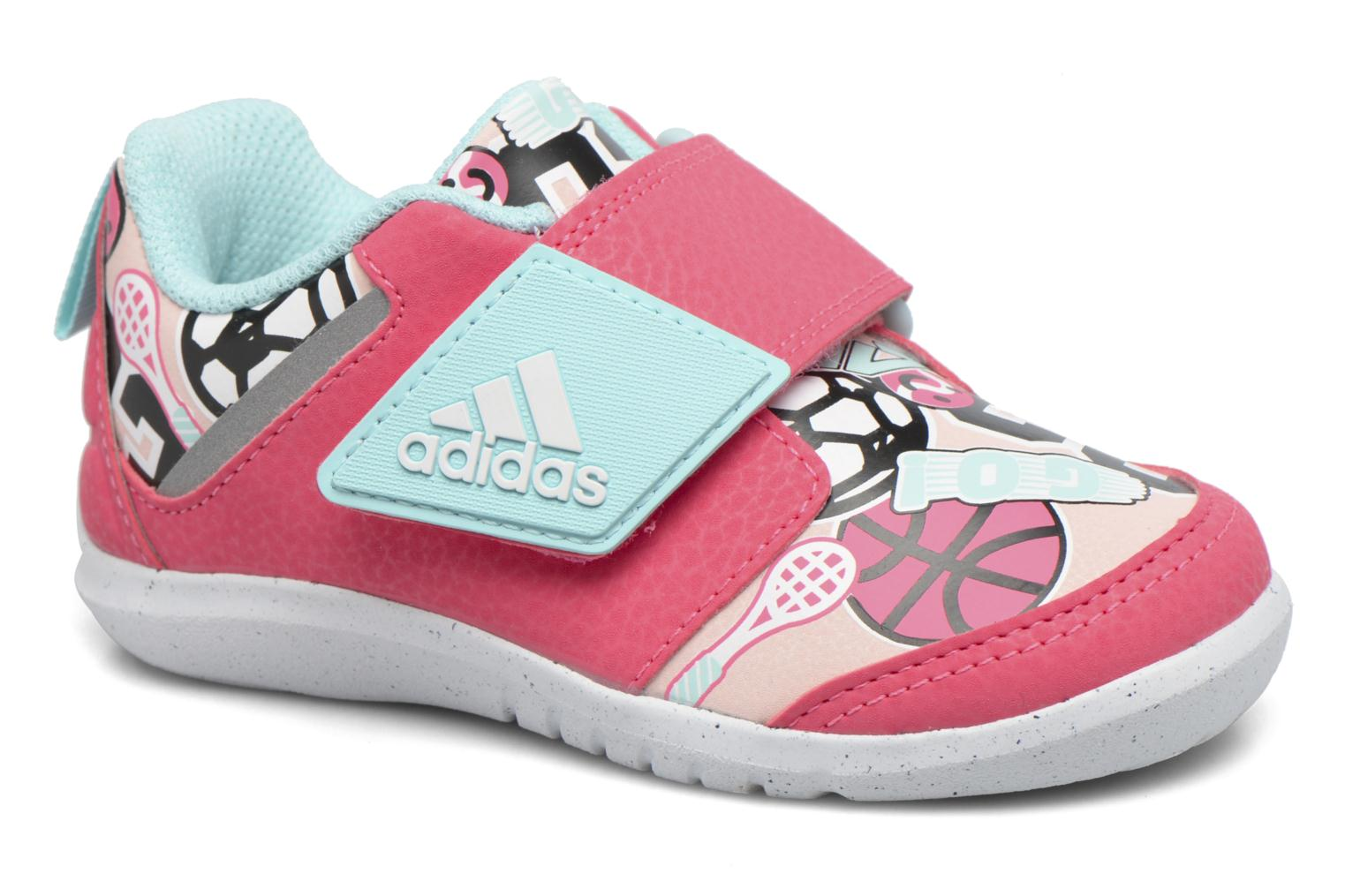 Baskets Adidas Performance Fortaplay Ac I Rose vue détail/paire