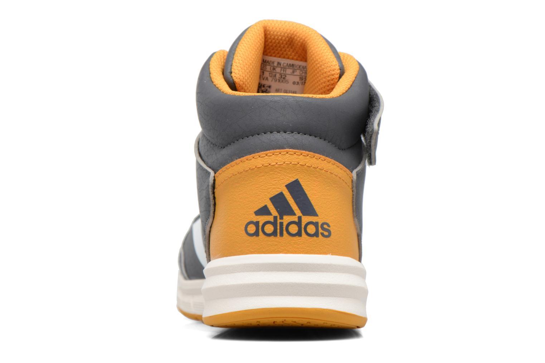 Sneaker Adidas Performance Altasport Mid El K grau ansicht von rechts