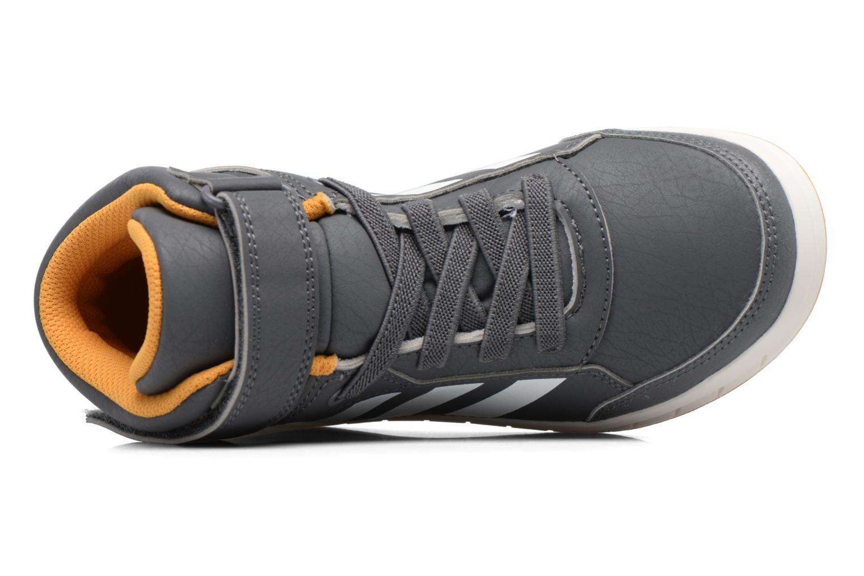 Sneaker Adidas Performance Altasport Mid El K grau ansicht von links