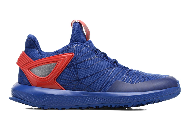 Baskets Adidas Performance Spider-Man Rapidarun K Bleu vue derrière