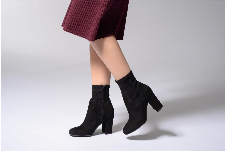 Bottines et boots Dune London Oliah Noir vue bas / vue portée sac