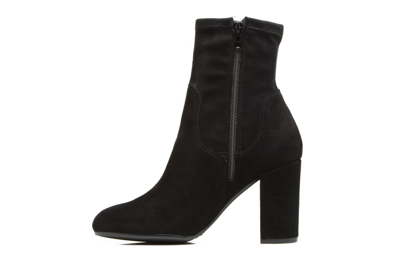Bottines et boots Dune London Oliah Noir vue face