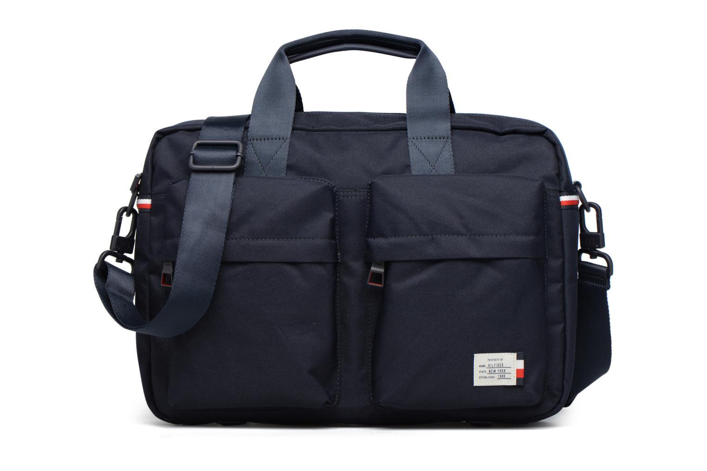 Sacs ordinateur Tommy Hilfiger Tommy Computer Bag (trolley adapt) Bleu vue détail/paire
