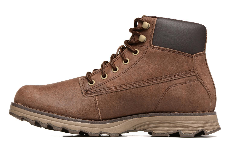 Stiefeletten & Boots Caterpillar Intake braun ansicht von vorne