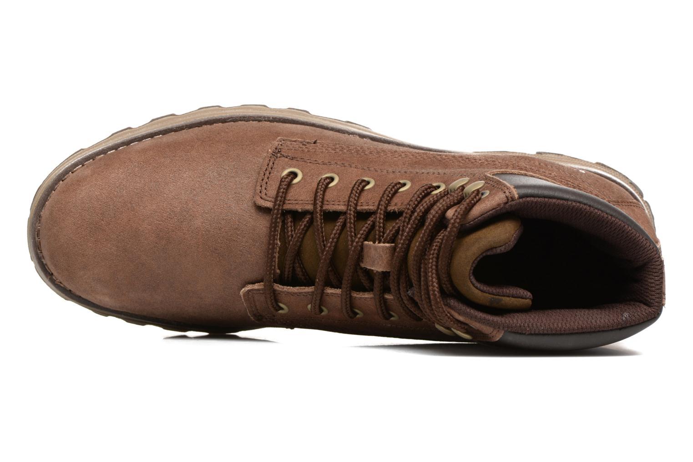 Stiefeletten & Boots Caterpillar Intake braun ansicht von links