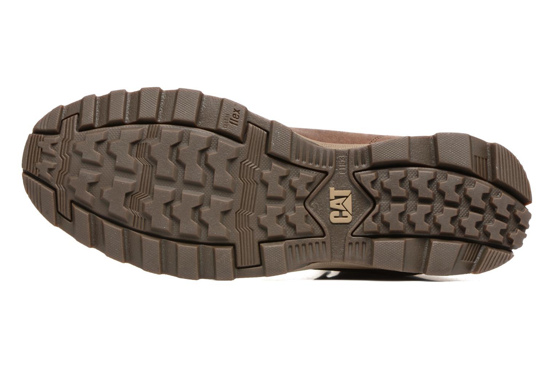 Stiefeletten & Boots Caterpillar Intake braun ansicht von oben