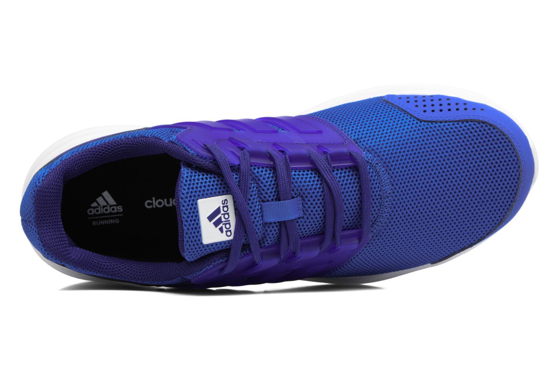 Chaussures de sport Adidas Performance Galaxy 4 M Bleu vue gauche