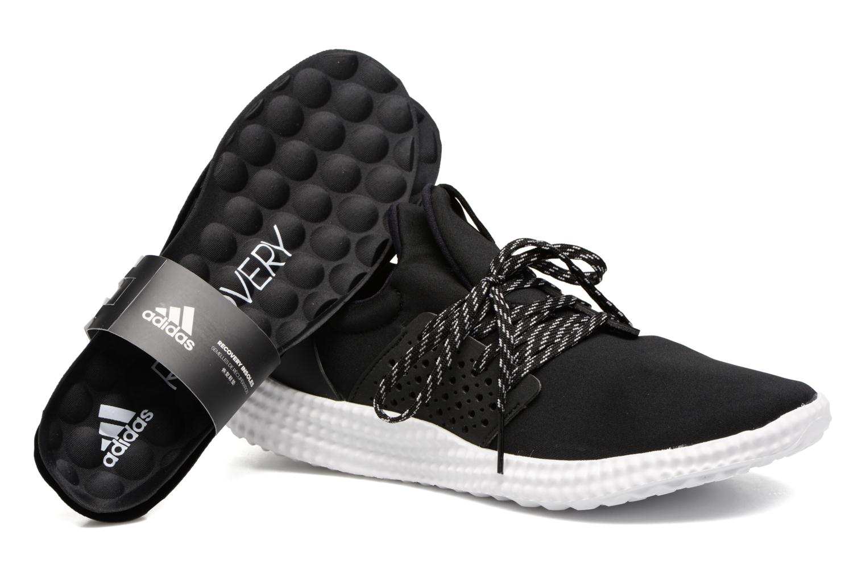 Sport shoes Adidas Performance Adidas Athletics 24/7 W Black 3/4 view