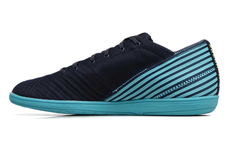 Chaussures de sport Adidas Performance Nemeziz 17.4 In Sala Bleu vue face