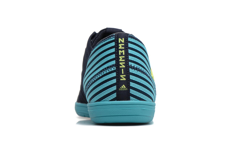 Chaussures de sport Adidas Performance Nemeziz 17.4 In Sala Bleu vue droite