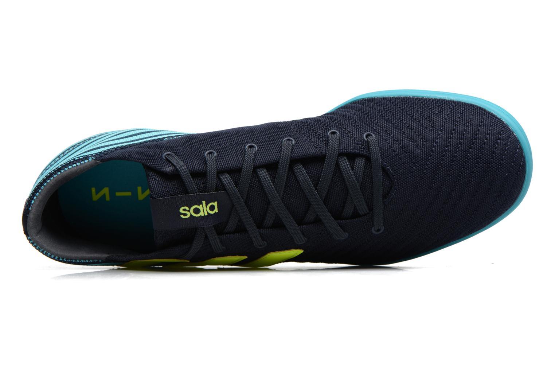 Chaussures de sport Adidas Performance Nemeziz 17.4 In Sala Bleu vue gauche