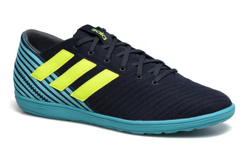 Chaussures de sport Adidas Performance Nemeziz 17.4 In Sala Bleu vue détail/paire