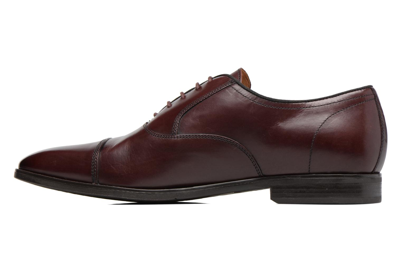Chaussures à lacets Geox U New Life E U74P4E Bordeaux vue face
