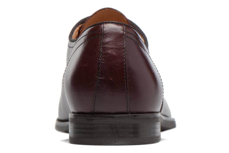 Chaussures à lacets Geox U New Life E U74P4E Bordeaux vue droite