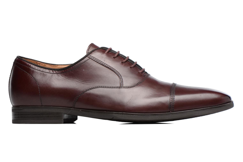 Chaussures à lacets Geox U New Life E U74P4E Bordeaux vue derrière