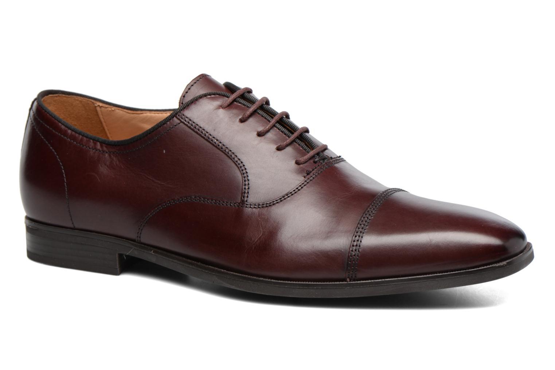 Chaussures à lacets Geox U New Life E U74P4E Bordeaux vue détail/paire