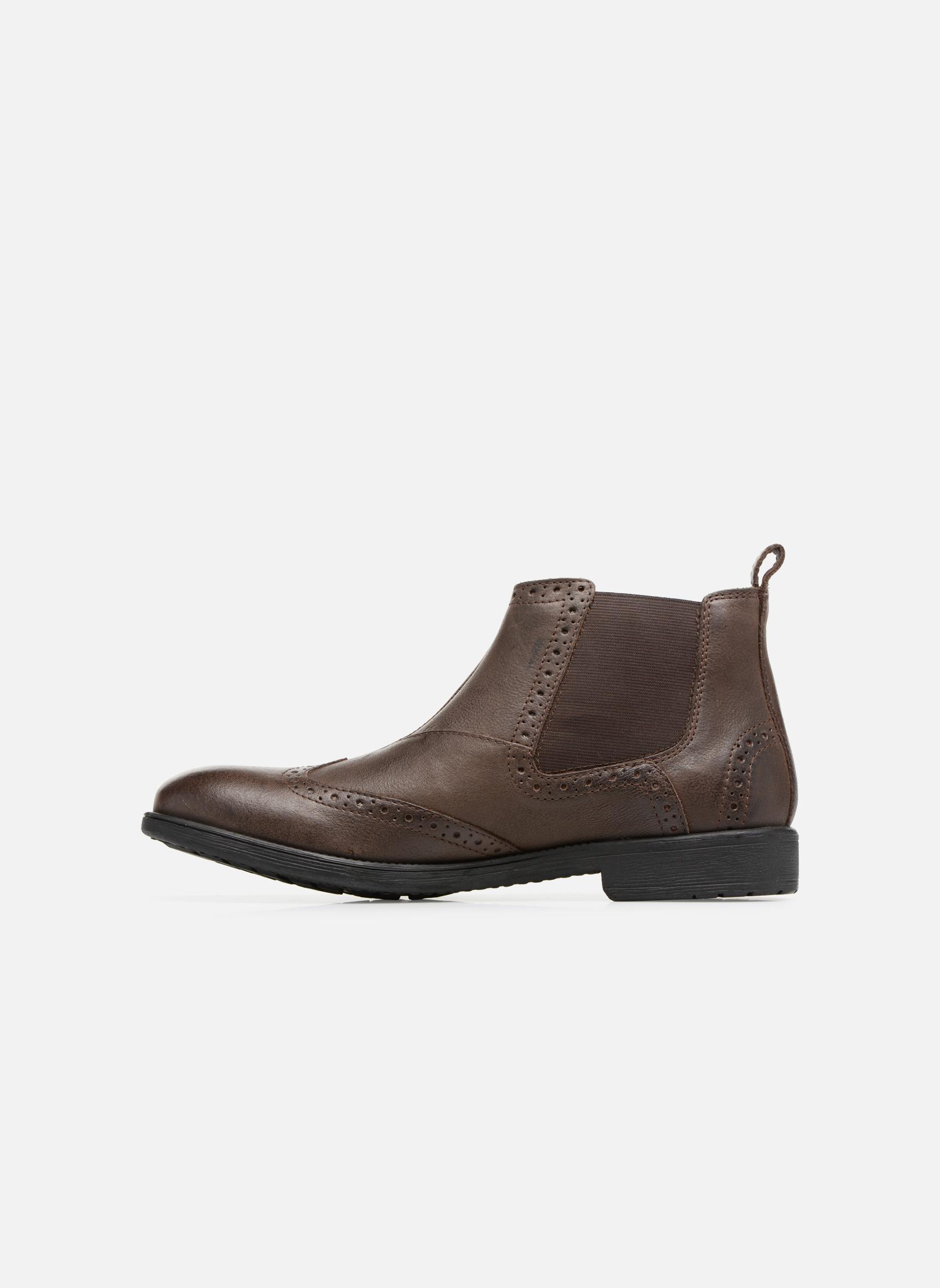 Bottines et boots Geox U Jaylon B U74Y7B Marron vue face