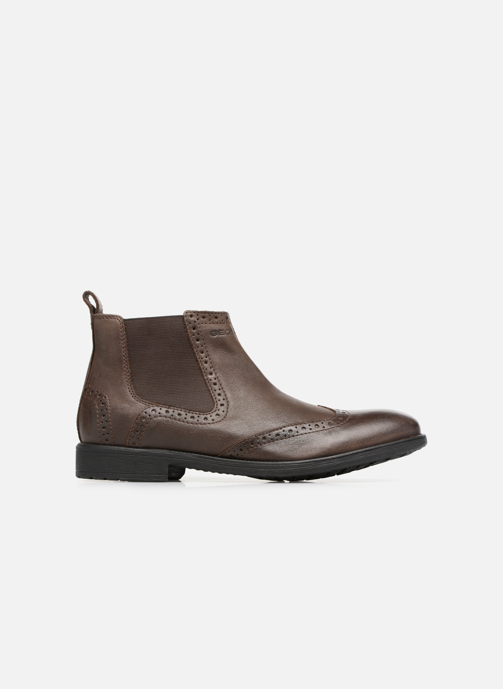 Bottines et boots Geox U Jaylon B U74Y7B Marron vue derrière