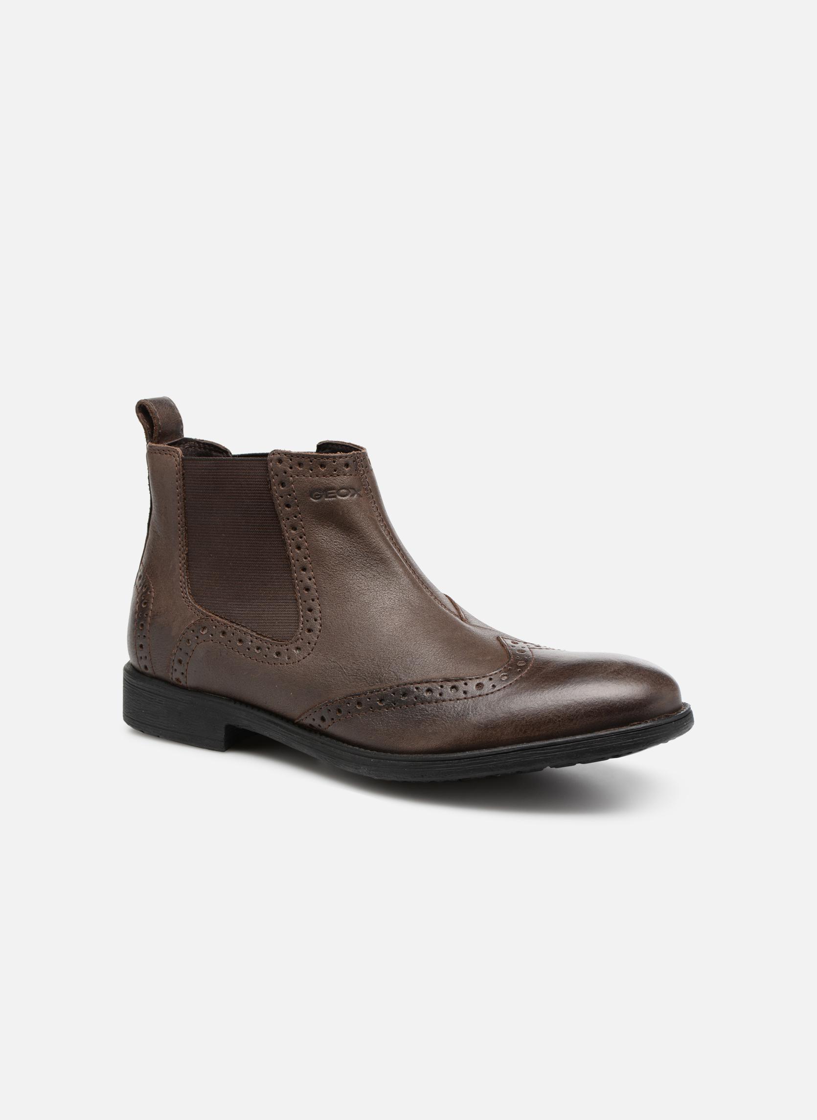 Bottines et boots Geox U Jaylon B U74Y7B Marron vue détail/paire