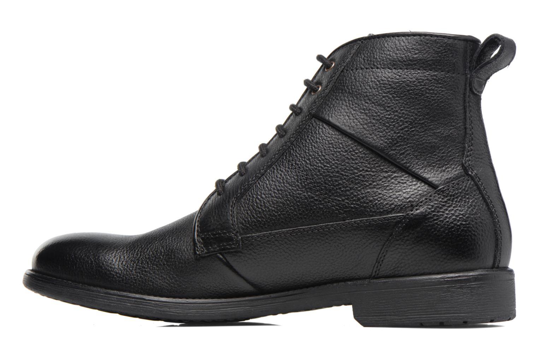 Boots en enkellaarsjes Geox U Jaylon C U74Y7C Zwart voorkant