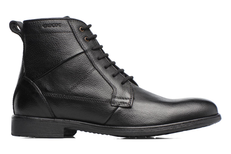 Boots en enkellaarsjes Geox U Jaylon C U74Y7C Zwart achterkant