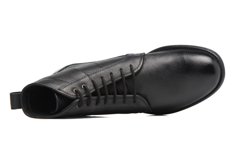 Boots en enkellaarsjes Geox U Jaylon C U74Y7C Zwart links