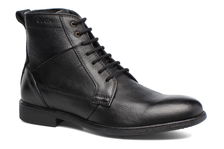 Boots en enkellaarsjes Geox U Jaylon C U74Y7C Zwart detail