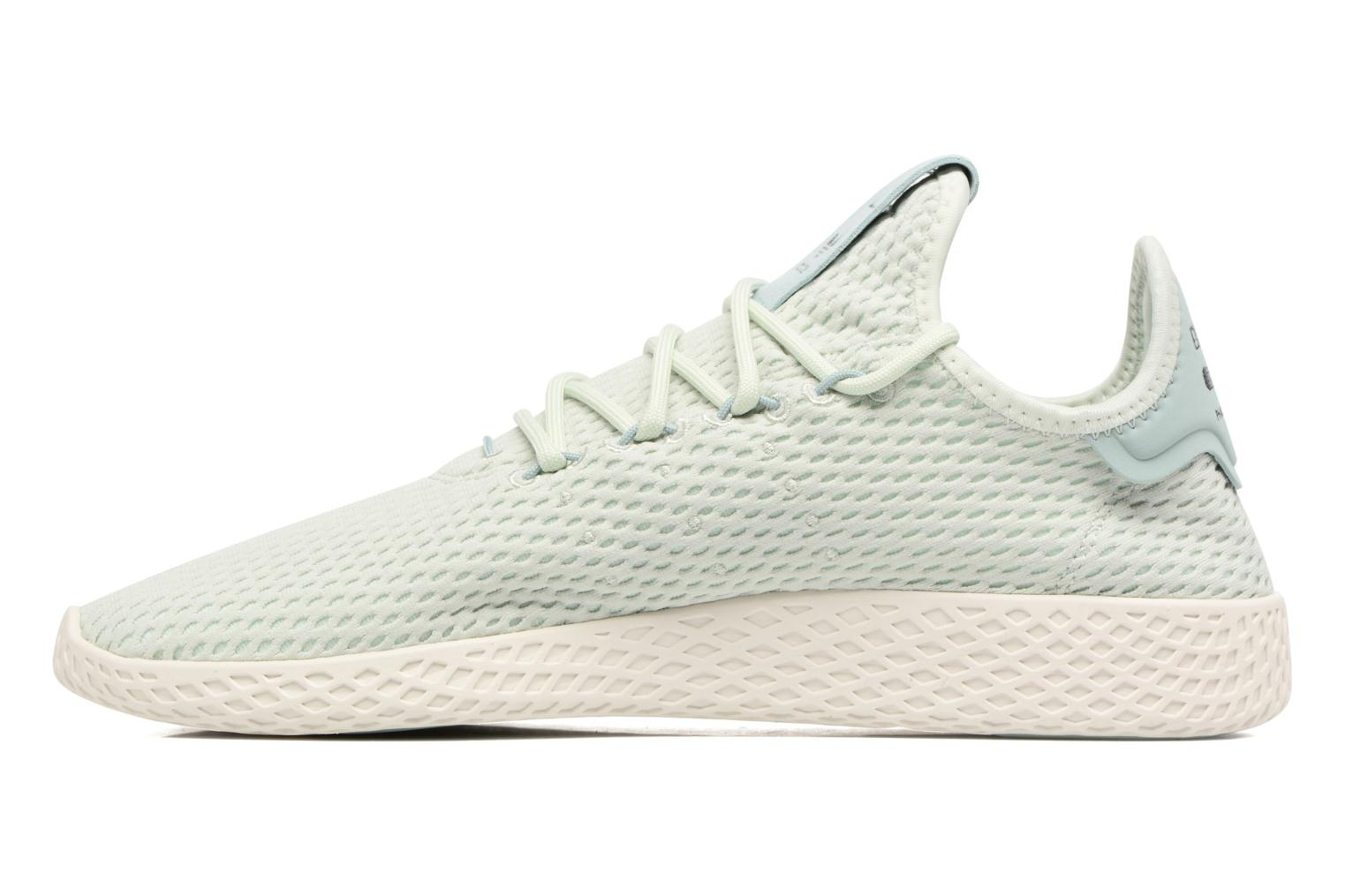 Baskets Adidas Originals Pharrell Williams Tennis Hu Bleu vue face