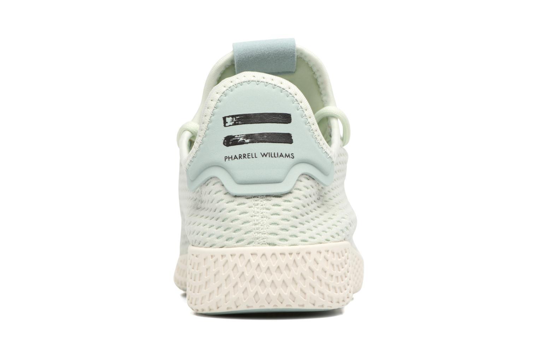 Baskets Adidas Originals Pharrell Williams Tennis Hu Bleu vue droite
