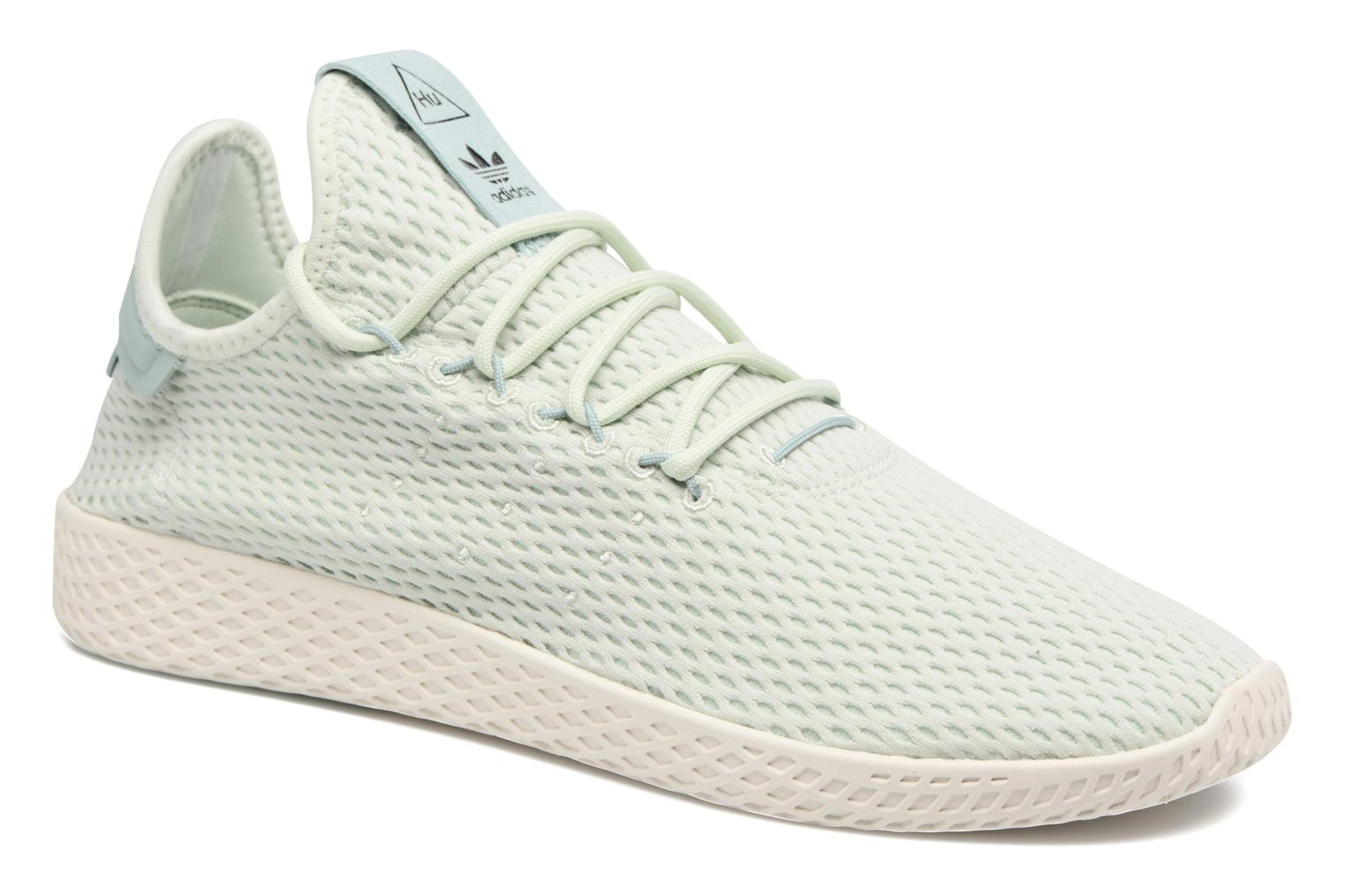 Baskets Adidas Originals Pharrell Williams Tennis Hu Bleu vue détail/paire