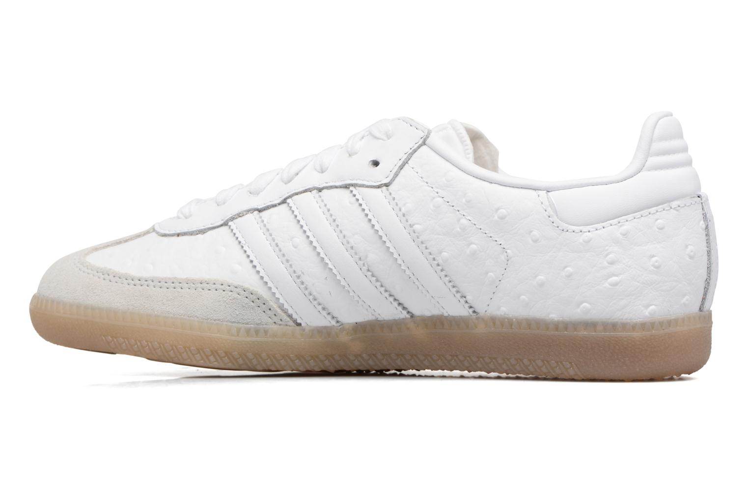 Baskets Adidas Originals Samba W Blanc vue face