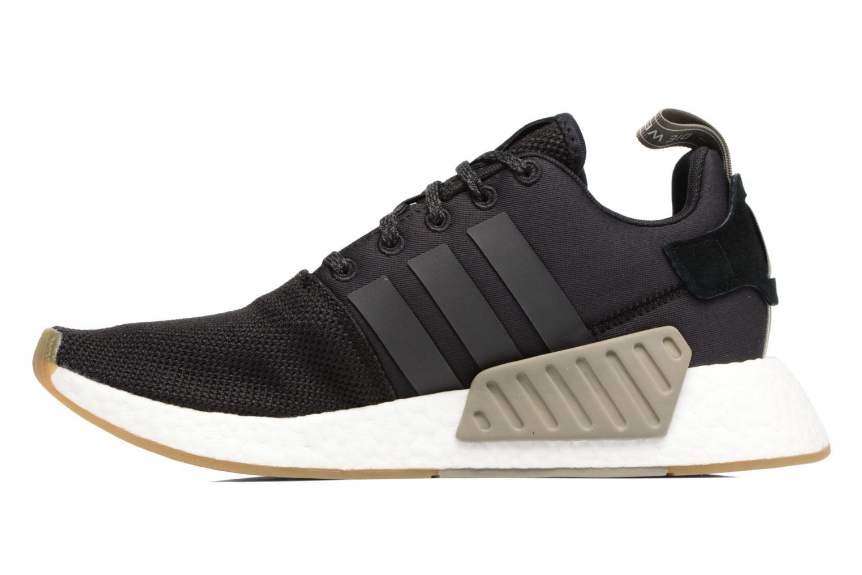 Sneaker Adidas Originals Nmd_R2 schwarz ansicht von vorne
