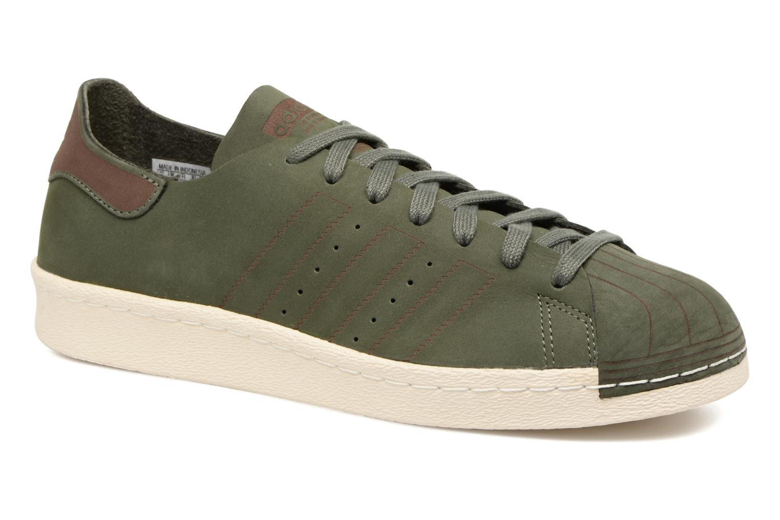 adidas superstar dames kaki groen