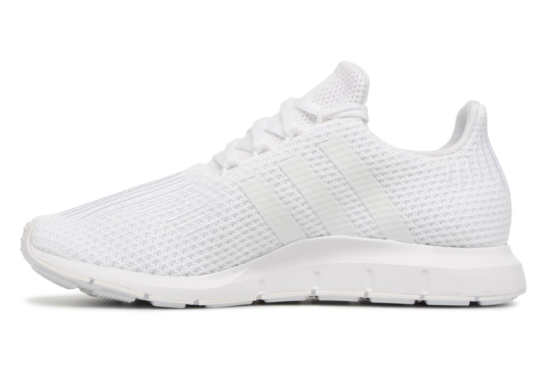 Sneakers Adidas Originals Swift Run W Hvid se forfra