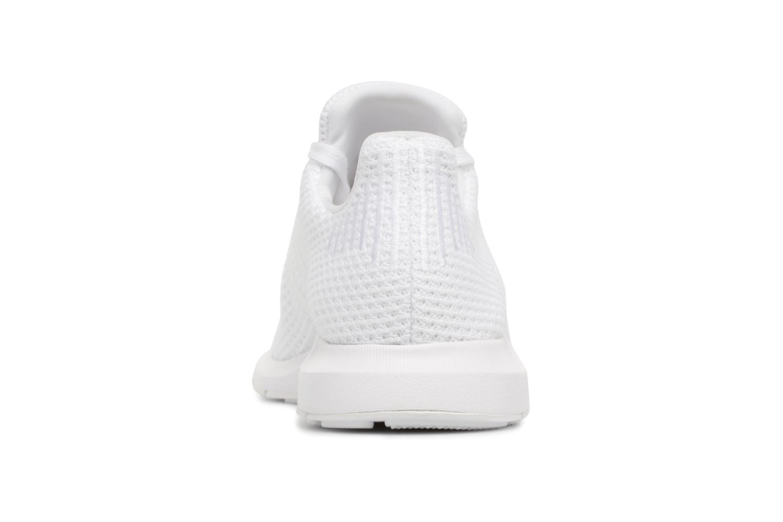 Baskets Adidas Originals Swift Run W Blanc vue droite