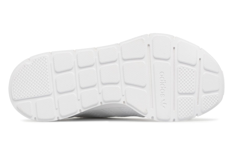 Baskets Adidas Originals Swift Run W Blanc vue haut