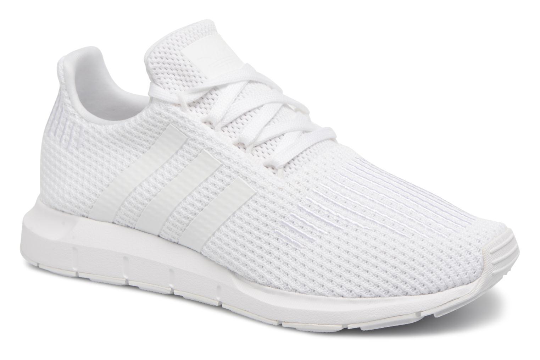 Deportivas Adidas Originals Swift Run W Blanco vista de detalle / par