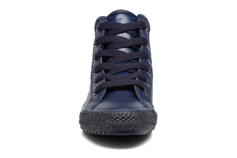 Baskets Converse Chuck Taylor All Star Converse Boot PC Leather Hi Bleu vue portées chaussures