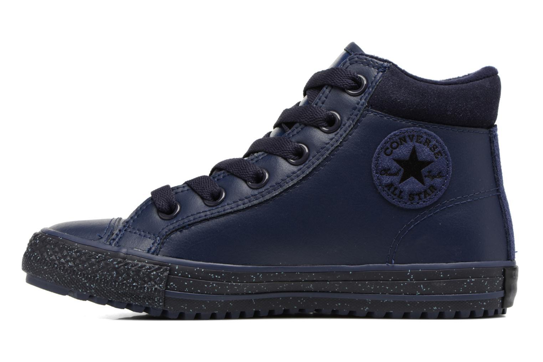 Baskets Converse Chuck Taylor All Star Converse Boot PC Leather Hi Bleu vue face