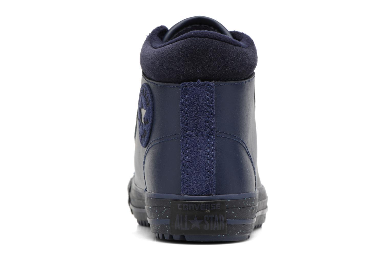 Sneaker Converse Chuck Taylor All Star Converse Boot PC Leather Hi blau ansicht von rechts
