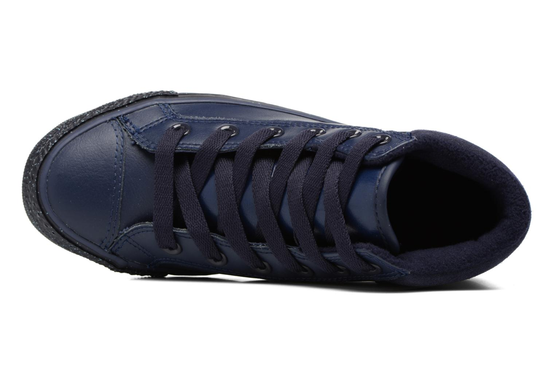Sneaker Converse Chuck Taylor All Star Converse Boot PC Leather Hi blau ansicht von links