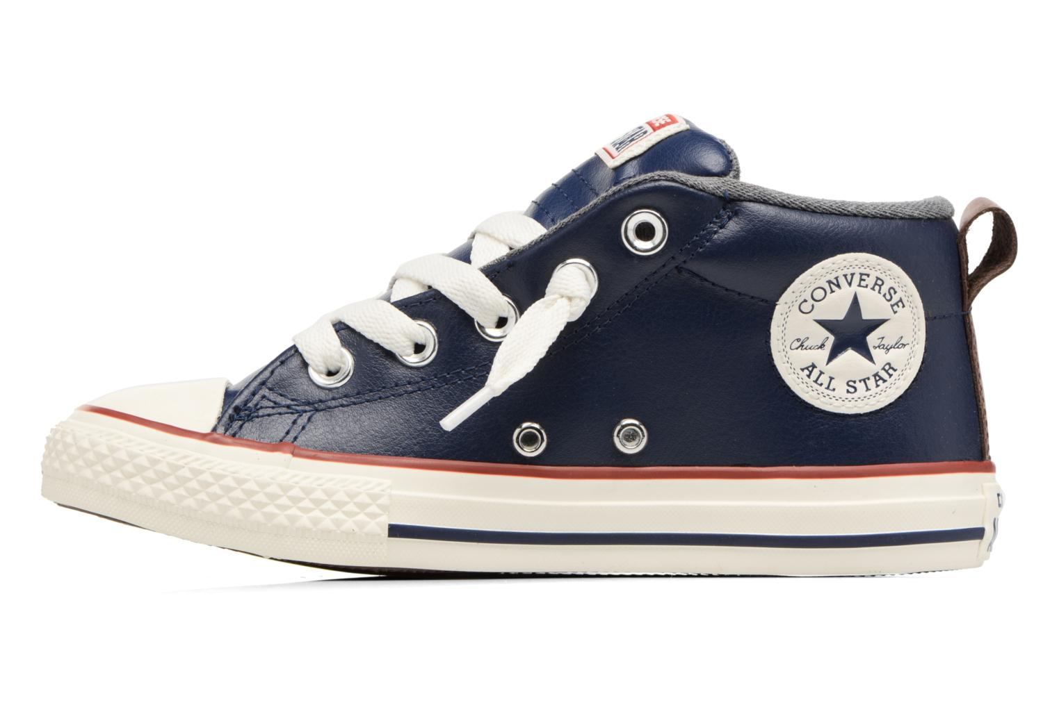 Chuck Taylor All Star Street Holiday Fundamentals Mid Midnight Indigo/Sharskin/Italy Blue