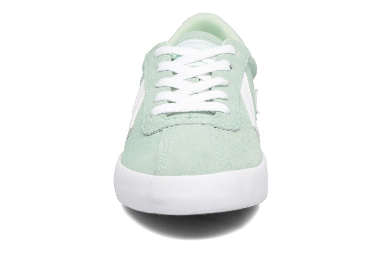 Sneaker Converse Breakpoint Suede Ox grün schuhe getragen
