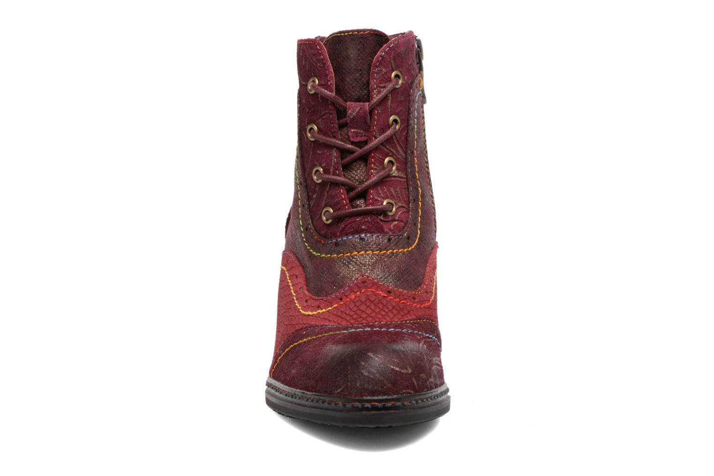 Bottines et boots Laura Vita Alizee 30 Bordeaux vue portées chaussures