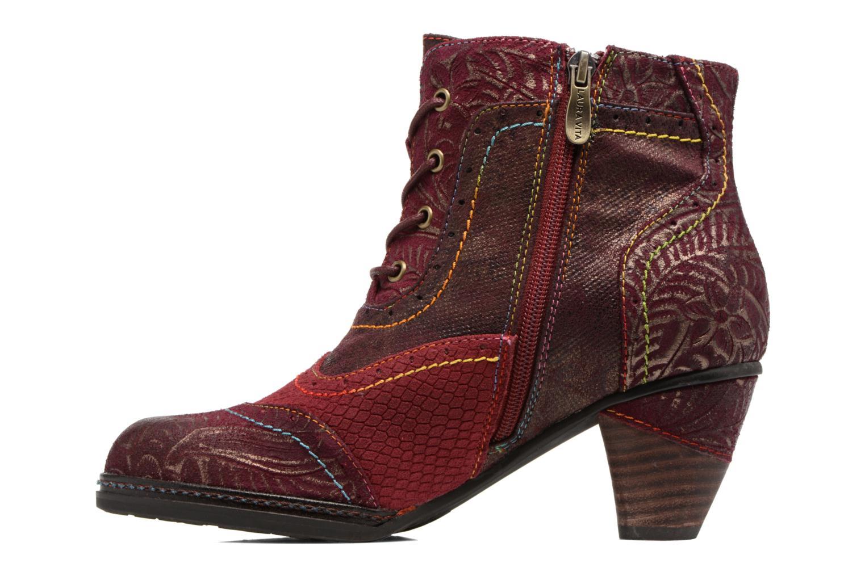 Bottines et boots Laura Vita Alizee 30 Bordeaux vue face