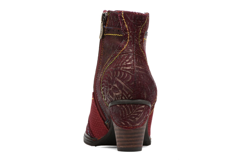 Bottines et boots Laura Vita Alizee 30 Bordeaux vue droite