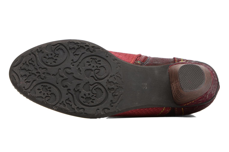 Bottines et boots Laura Vita Alizee 30 Bordeaux vue haut